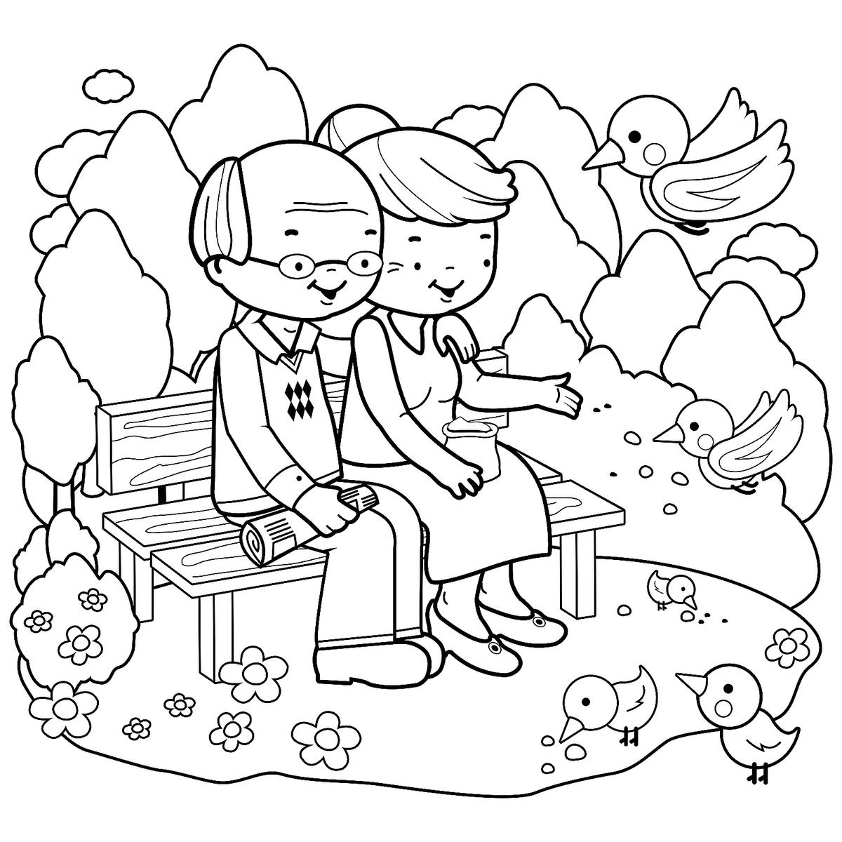 Grandparents Coloring Pages Free Fun Printable Coloring Pages Of Grandmas Grandpas For Kids Printables 30seconds Mom