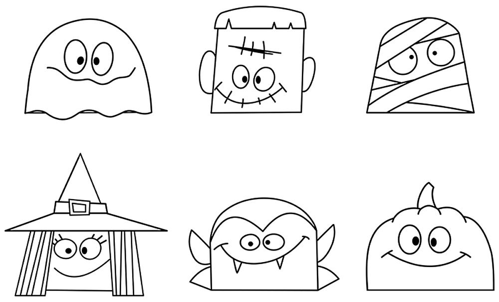 Halloween Coloring Pages 10 Free Spooky Printable Activities For