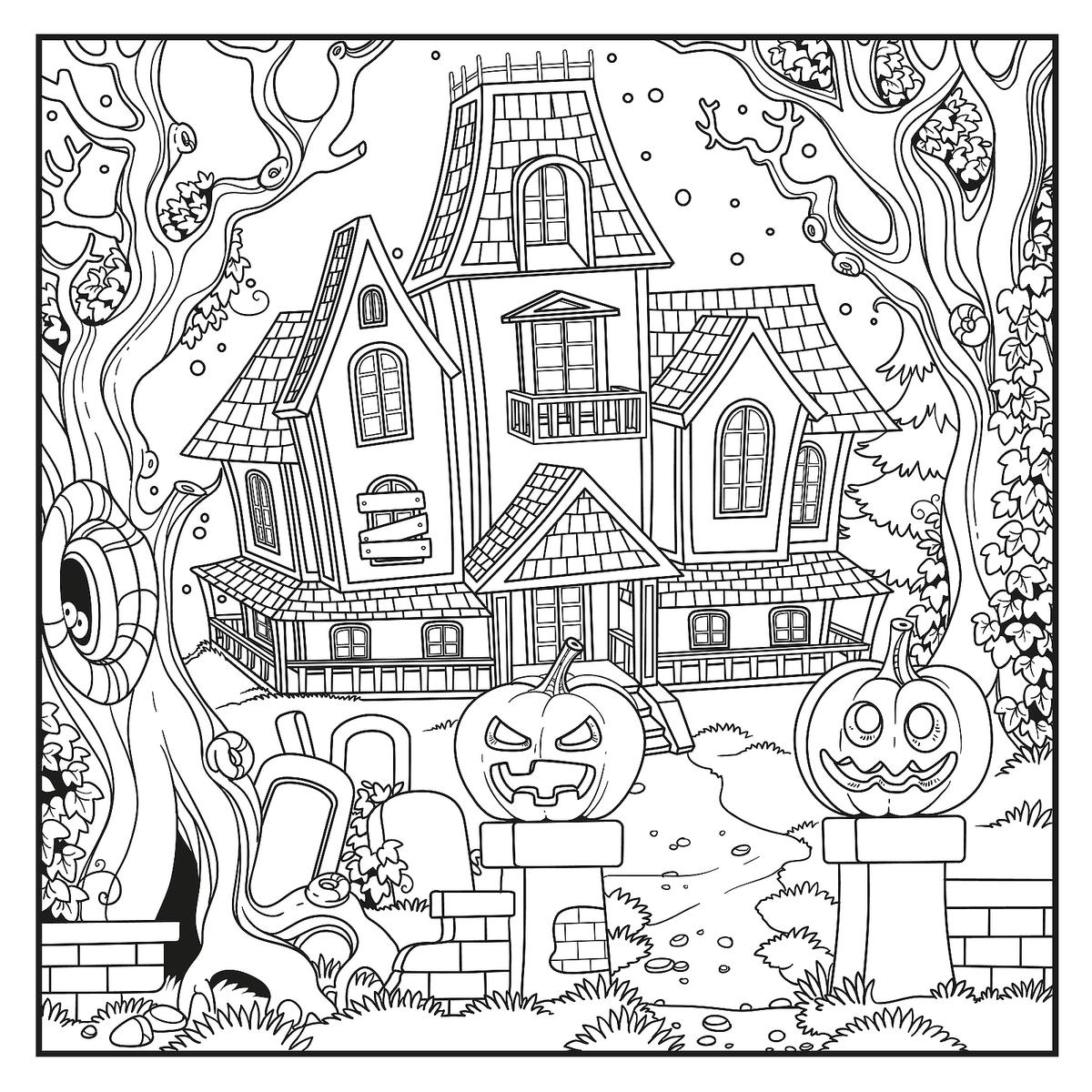 Halloween Coloring Pages 10 Free