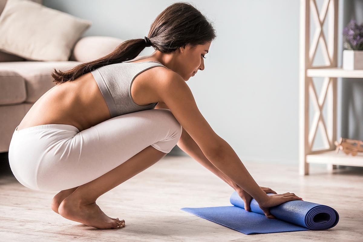 how to clean manduka mat