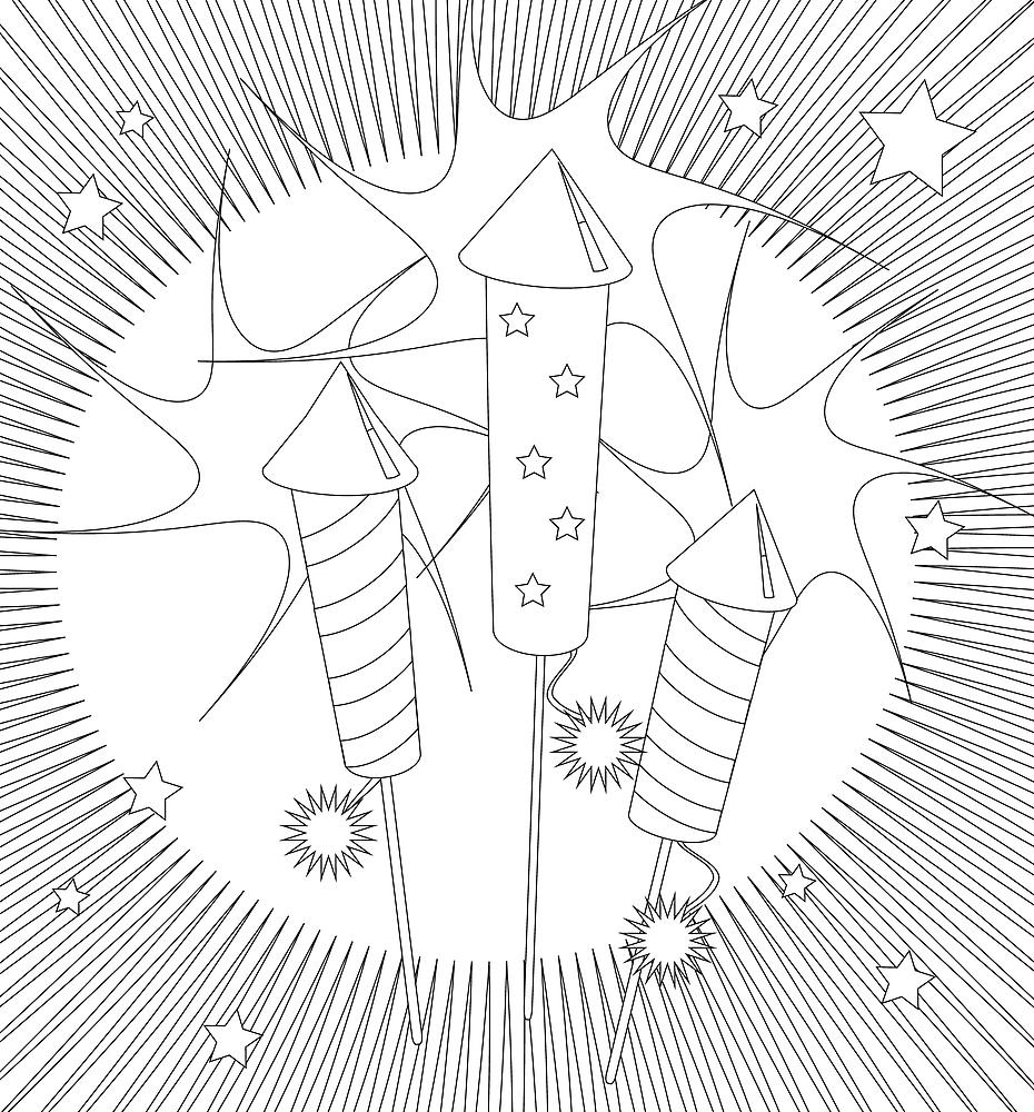 Happy Independence Day coloring page for kids, coloring pages ...   1000x930