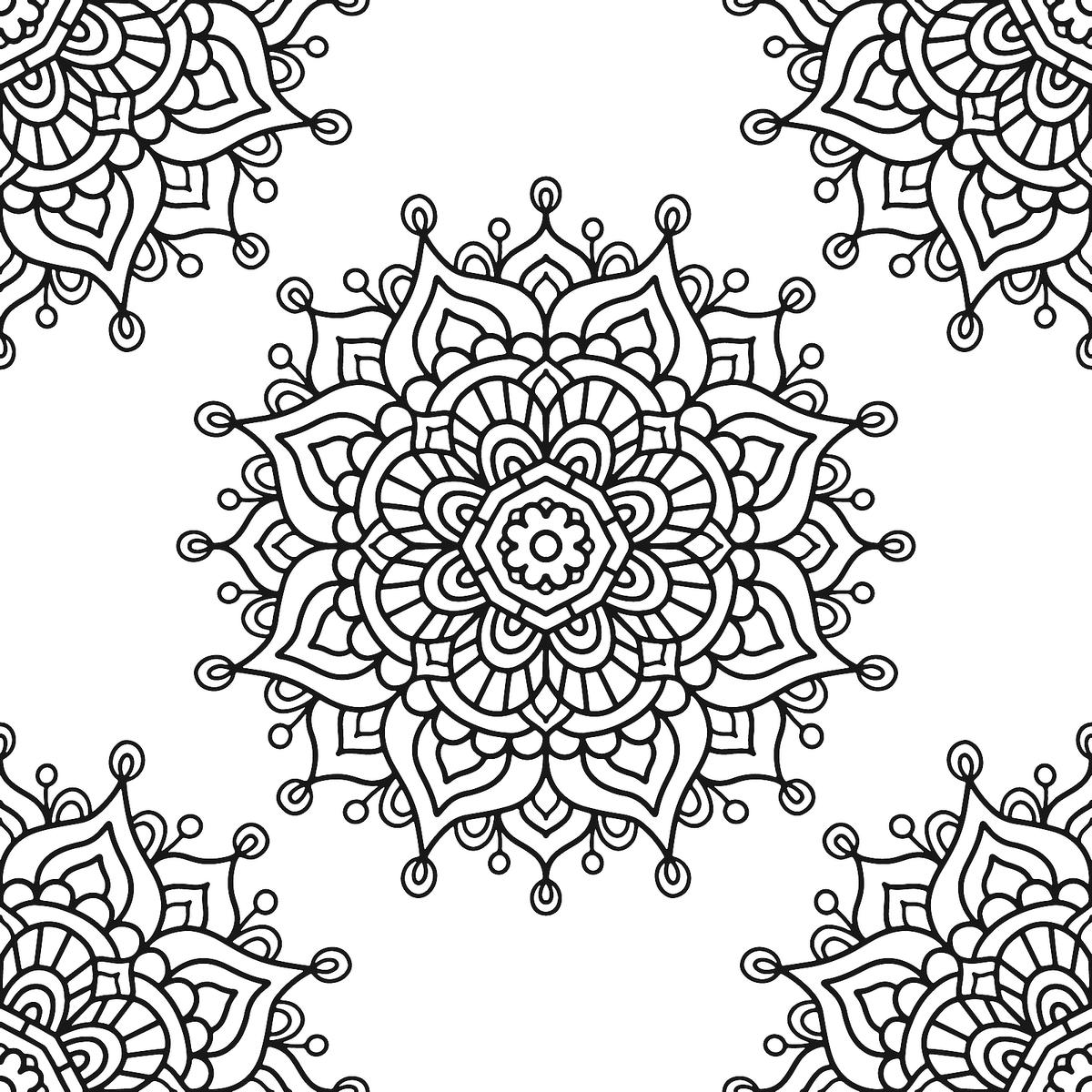Mandala Coloring Pages Printable Coloring Pages Of Mandalas For