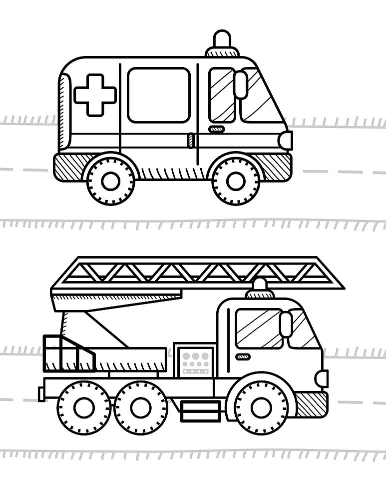 Moving Vehicle Coloring Pages 10 Fun Cars Trucks Trains And More Printable Coloring Pages For Kids Printables 30seconds Mom