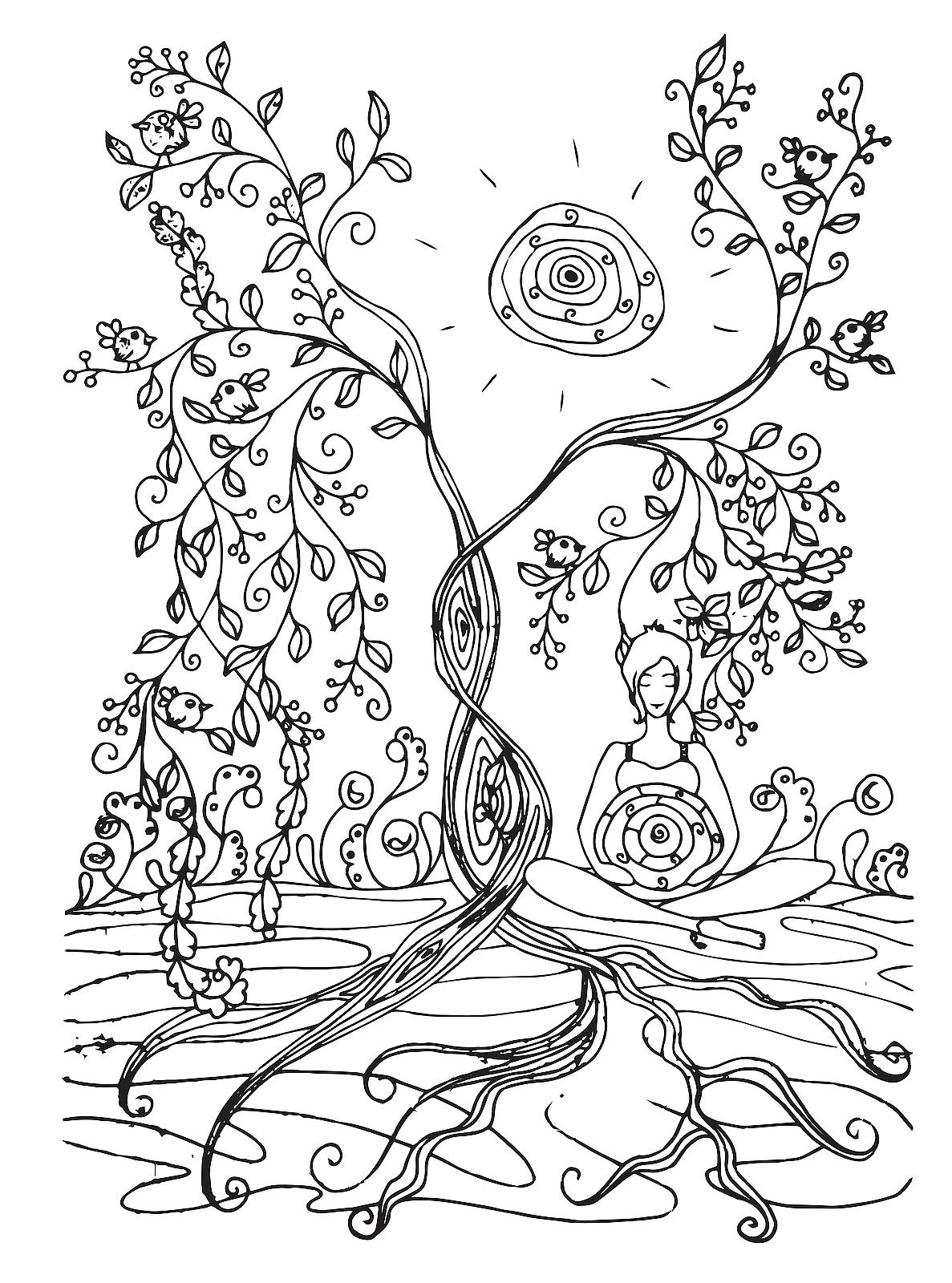 Baby shower coloring pages - timeless-miracle.com | 1600x1187