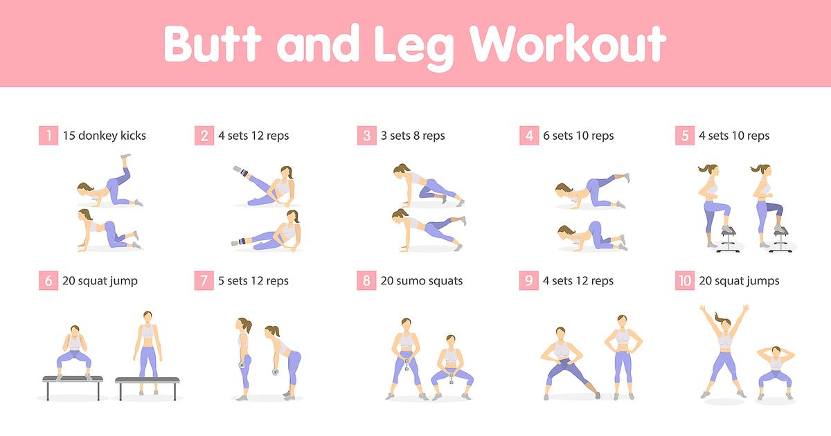 It's just a photo of Printable Workout Routines for weight loss