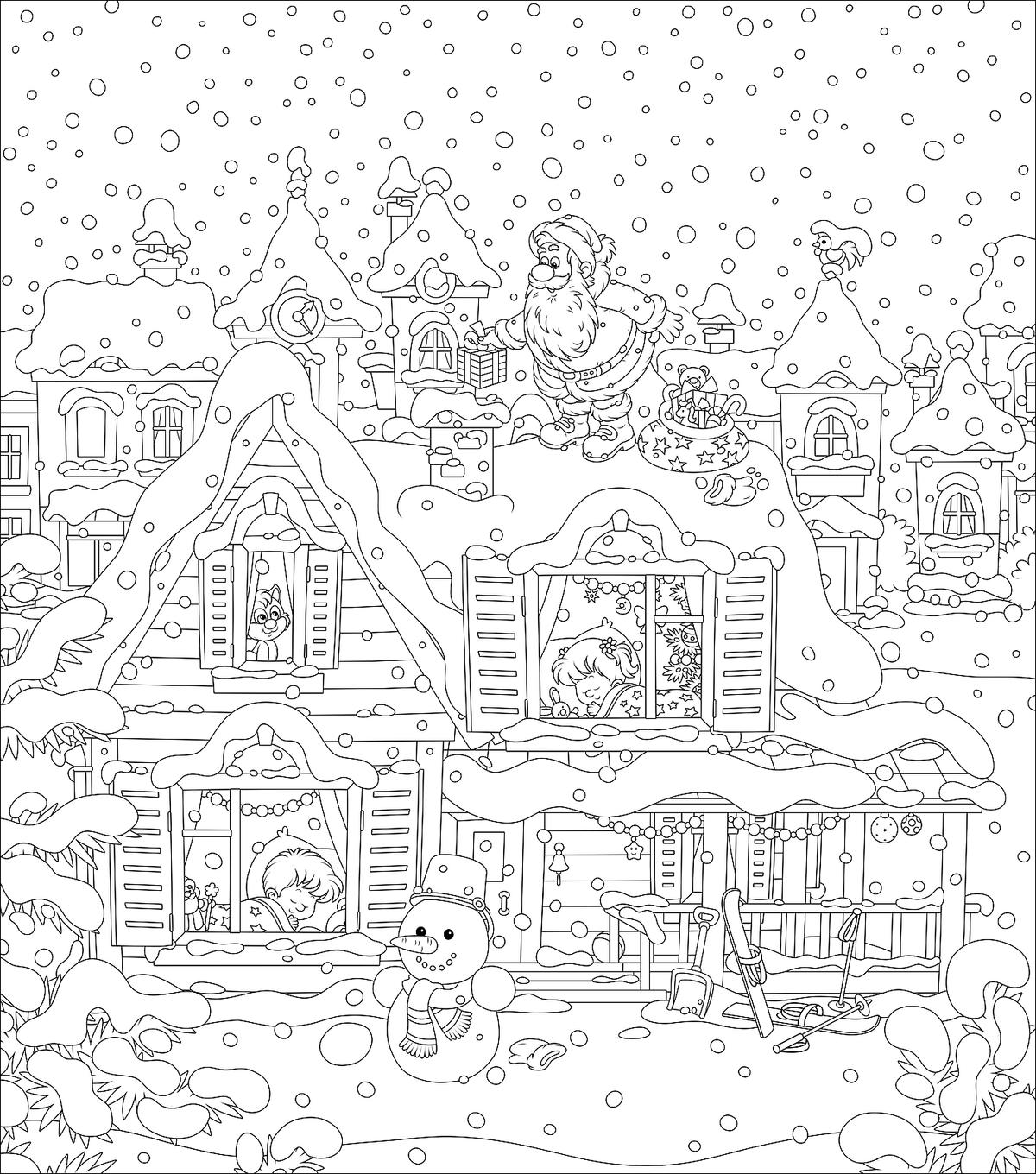 Free Coloring Pages That You Can Print - Coloring Home | 1360x1200