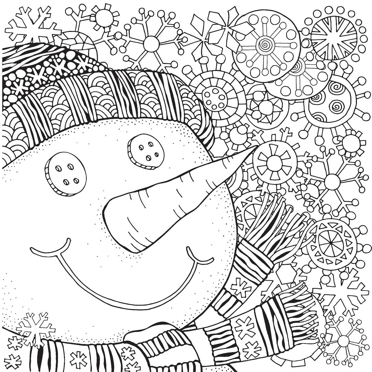 Snowman coloring pages | Free Coloring Pages | 1200x1200