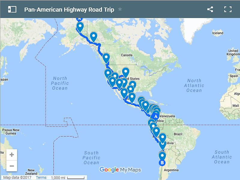 Awesome US Road Trips To Beat All Road Trips US Travel - Argentina highway map