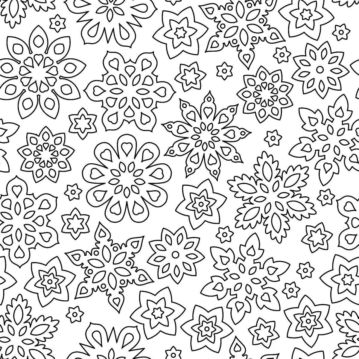 Winter Coloring Pages - Itsy Bitsy Fun | 1200x1200