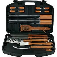 18-Piece Stainless-Steel Barbecue Set