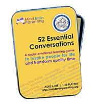 52 Essential Conversations: The Life Skills Card Game for Children and Adults - Builds Social Emotional, Critical Thinking, Growth Mindset & Vocabulary Skills - Created by Harvard Educators