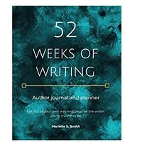 52 Weeks of Writing Author Journal and Planner