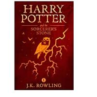 9. Harry Potter and the Sorcerer's Stone by J.K. Rowling (231,022)