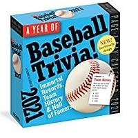 A Year of Baseball Trivia! Page-A-Day Calendar
