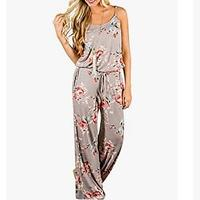 AMiERY Women's Floral Printed Jumpsuits
