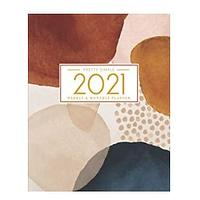 Abstract 2021 Day Planner