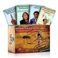 African American History Stories, Pioneers in Black History Flashcards