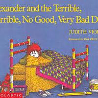 """Alexander and the Terrible, Horrible, No Good, Very Bad Day"""