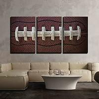 American Football Laces Canvas Art Wall
