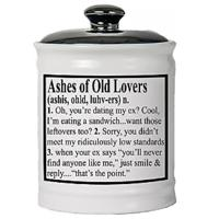 Ashes of Old Lovers Ceramic Jar