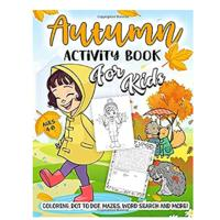 Autumn Activity Book for Kids