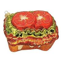BLT Sandwich Holiday Ornament
