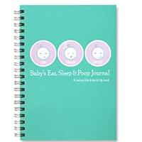 Baby's Eat, Sleep & Poop Journal, Log Book