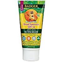 Badger SPF 34 Sunscreen & Bug Repellent