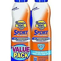 Banana Boat Ultra Mist Sport Sunscreen Spray - Twin Pack