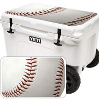 Baseball Decal Wrap Compatible With YETI