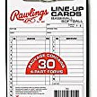 Baseball Scorecards