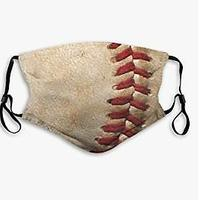 Baseball Seams Face Mask