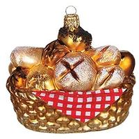 Basket of Bread Ornament