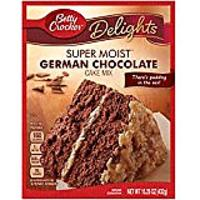 Betty Crocker Super Moist Cake Mix, German Chocolate