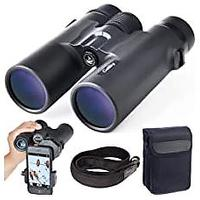 Binoculars With Phone Mount Strap Carrying Bag