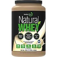 Bodylogix Natural Whey Protein Nutrition Shake, Natural Vanilla Bean