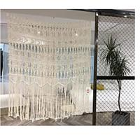 Boho-Inspired Touch Window Curtain