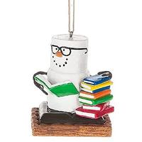 Book Nerd Ornament