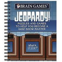 Brain Games Jeopardy! Puzzles and Games to Help You Become a Quiz Show Master