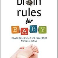 """Brain Rules for Baby"""