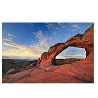 Broken Arch at Arches National Park, Utah