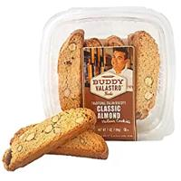 Buddy Valastro Foods Italian Biscotti Cookies (Classic Almond)