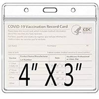CDC Vaccine Card Protectors (5 Pack)