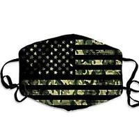 Camo Flag Face Mask