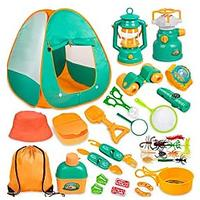 Camping Set With Tent (24 Pieces)