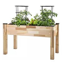 CedarCraft Elevated Cedar Planter