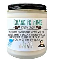 Chandler Bing Candle