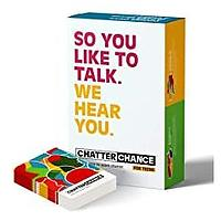 ChatterChance Conversation Starter for Teens