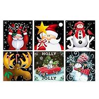Christmas Diamond Art 6 Pack