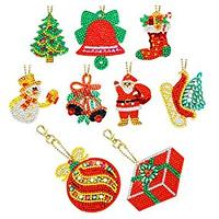 Christmas Ornaments Diamond Art Kit (9 Pack)